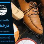فروش استثنائی واکس کفش صادراتی بی رنگ